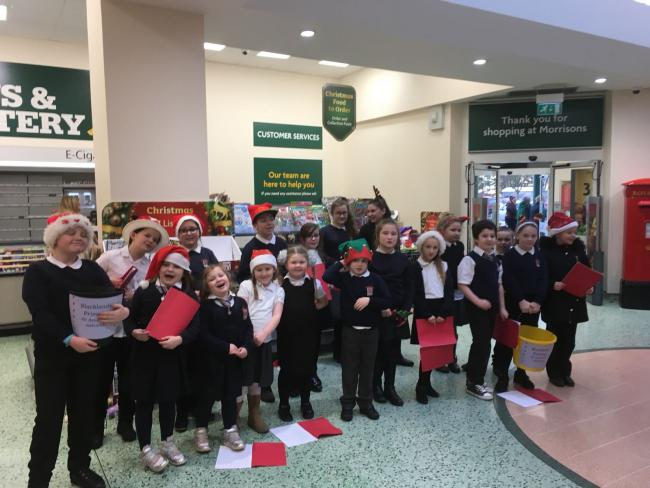 Blacklands Primary's Glee Club are on song for Christmas
