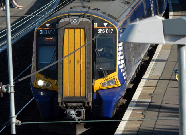Storm Hector brings disruption to North Ayrshire trains