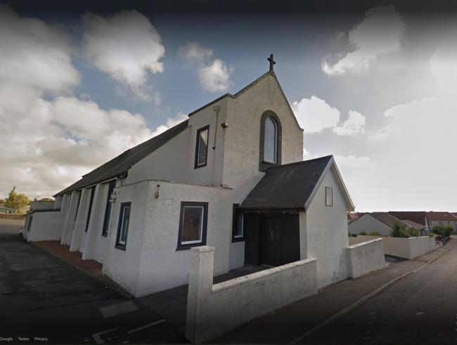Man arrested after Kilwinning Church robbery