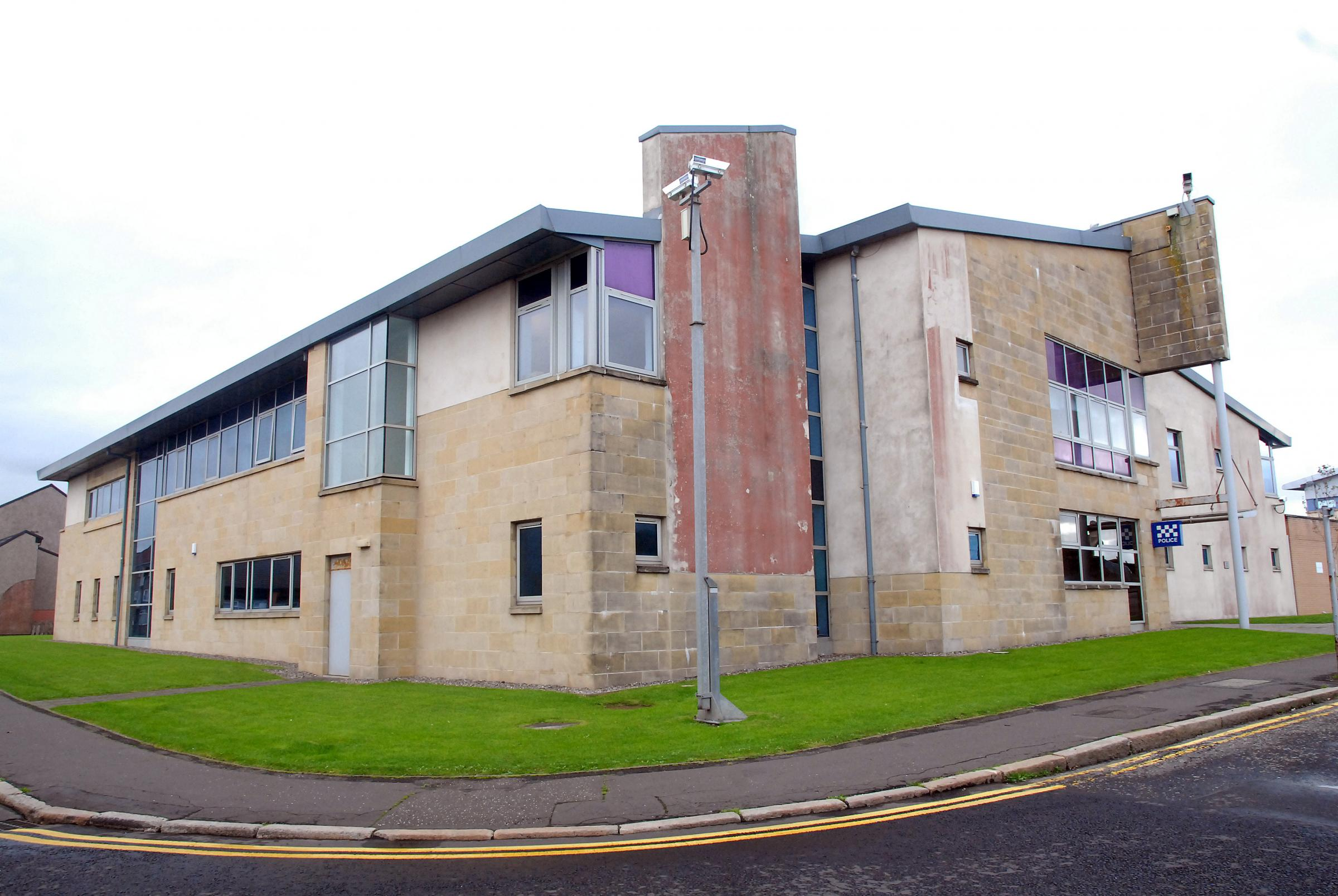 Kilwinning woman repeatedly kicked and spat at police