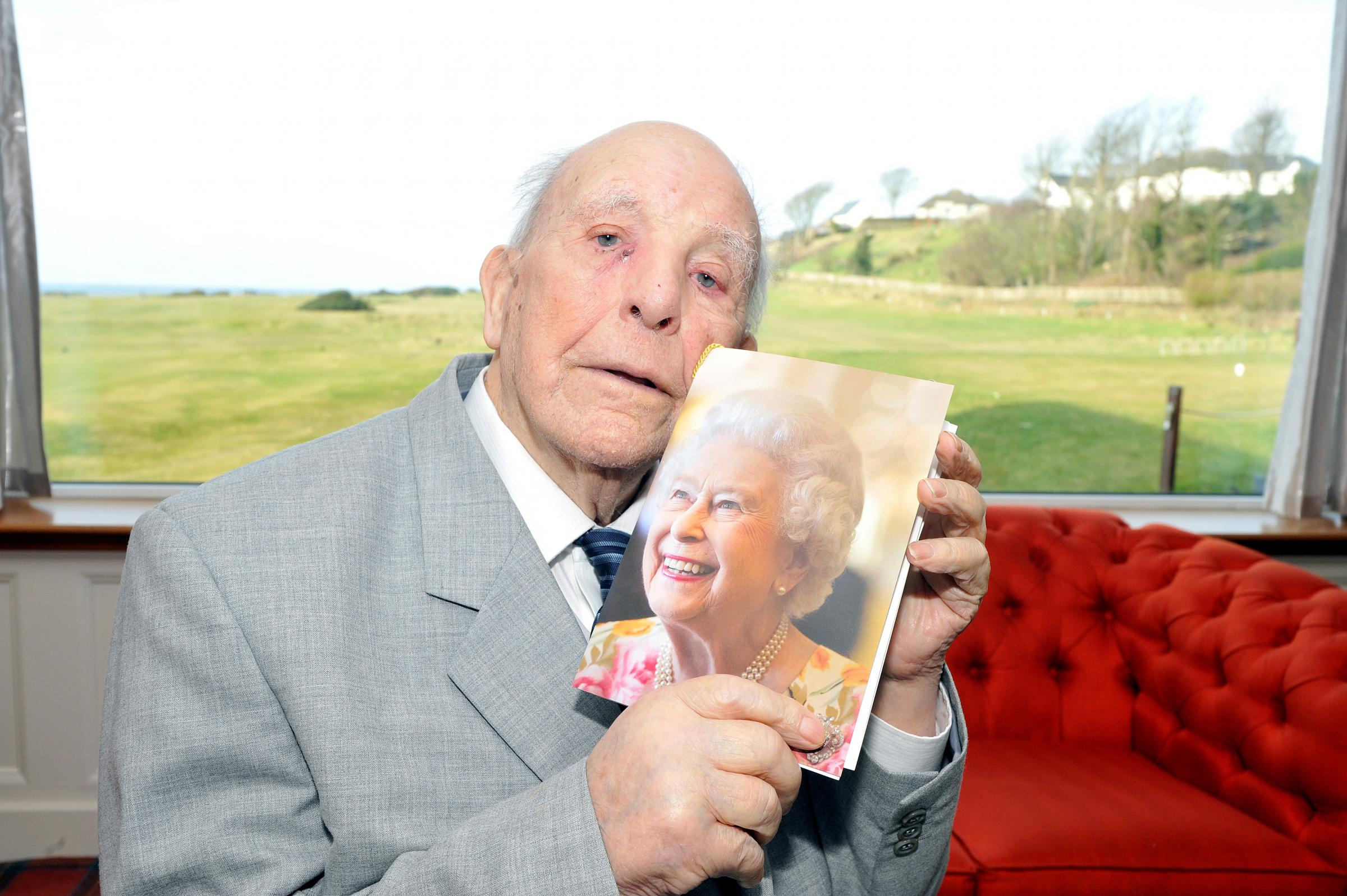 Kilwinning man celebrates 100th birthday