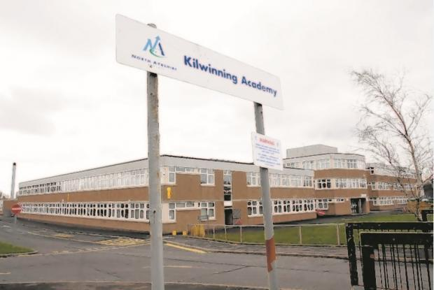Campus cops return to Kilwinning Academy