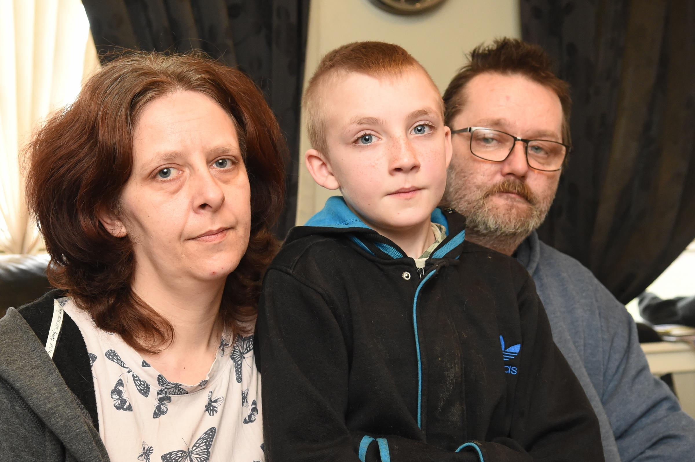 Mum tells of terror after son 'chased and stabbed' with used needle
