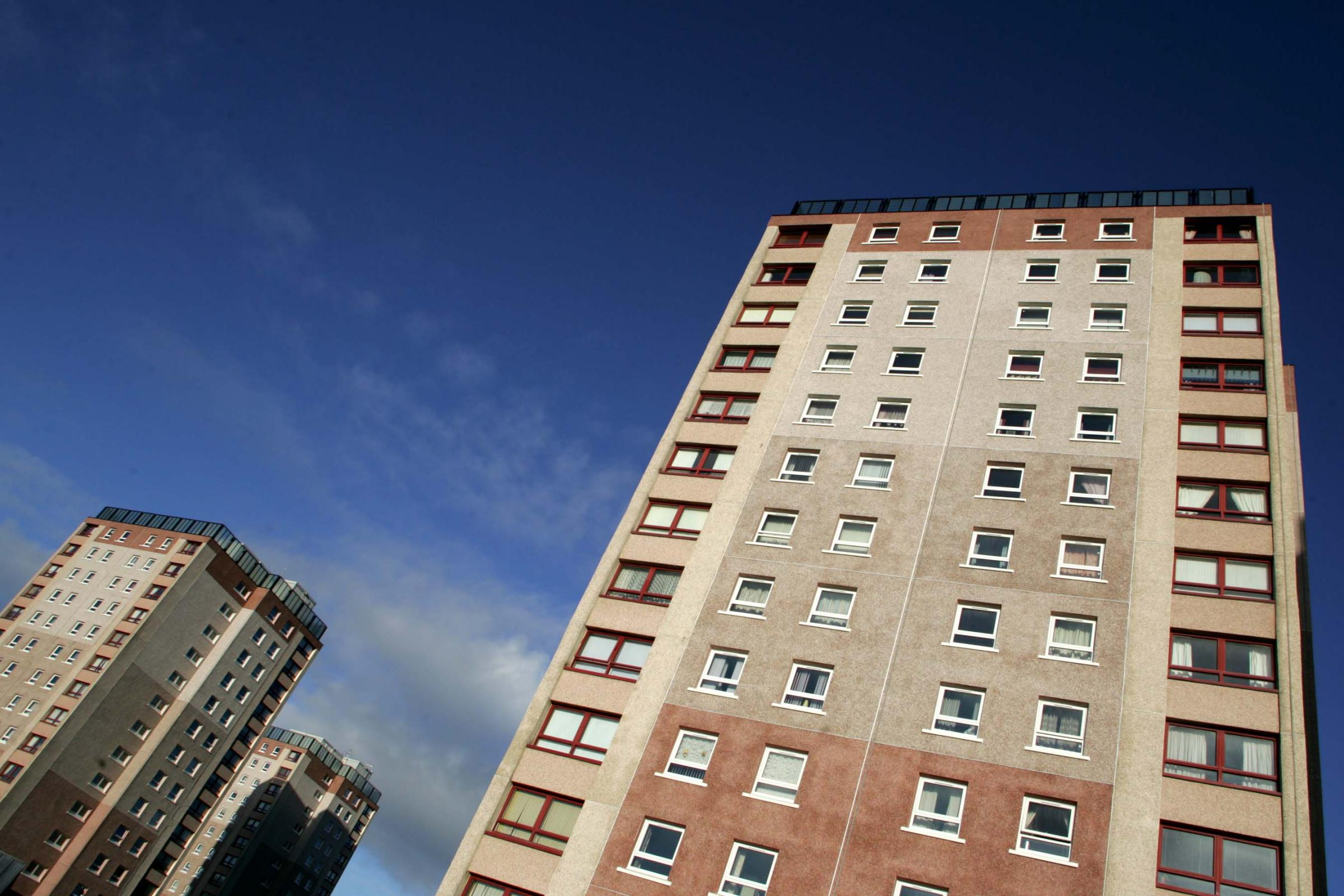 Tenants begin to move out of Fullarton high flats