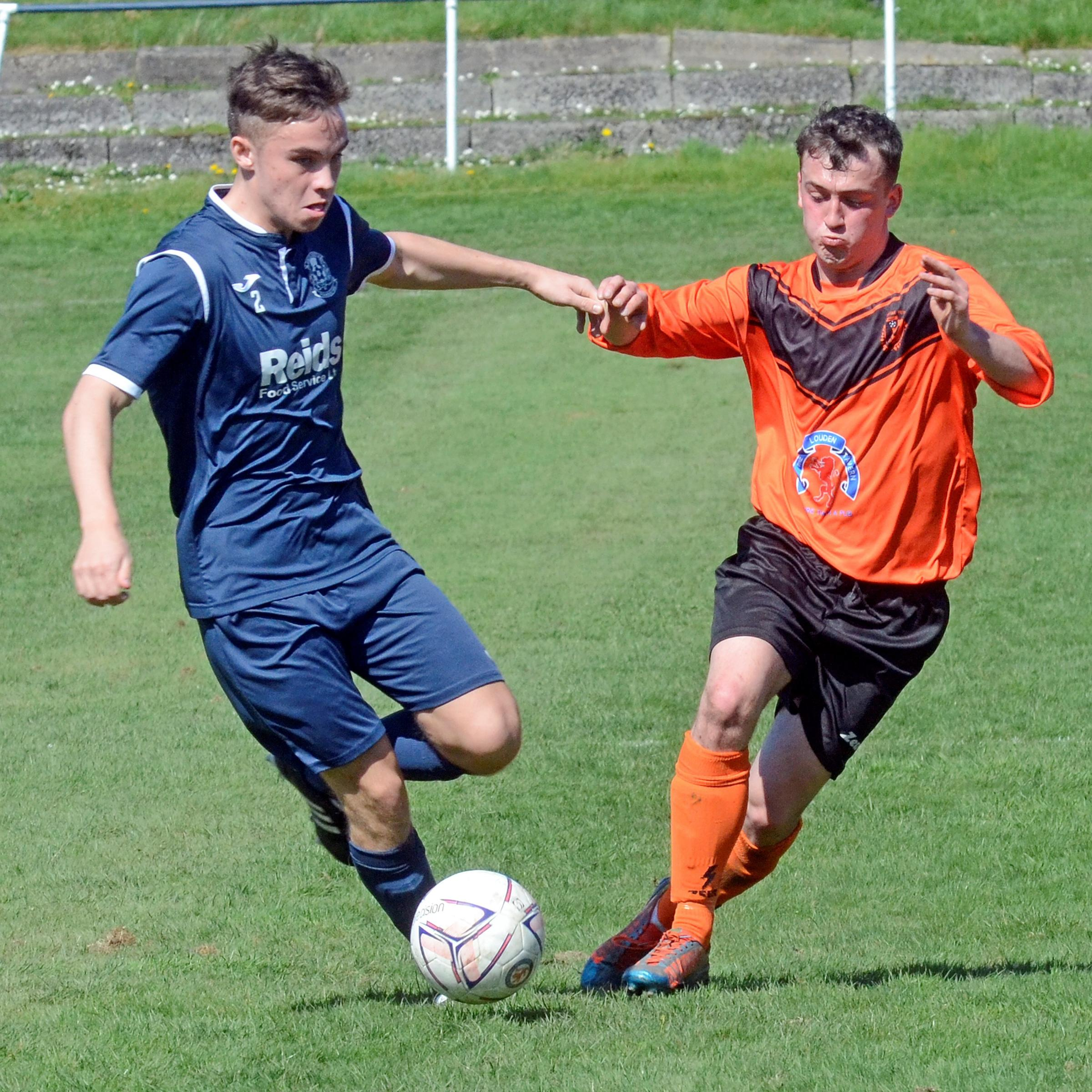 VICS STUNG: Irvine Victoria went down 3-0 to hosts Dalry Thistle on Saturday.