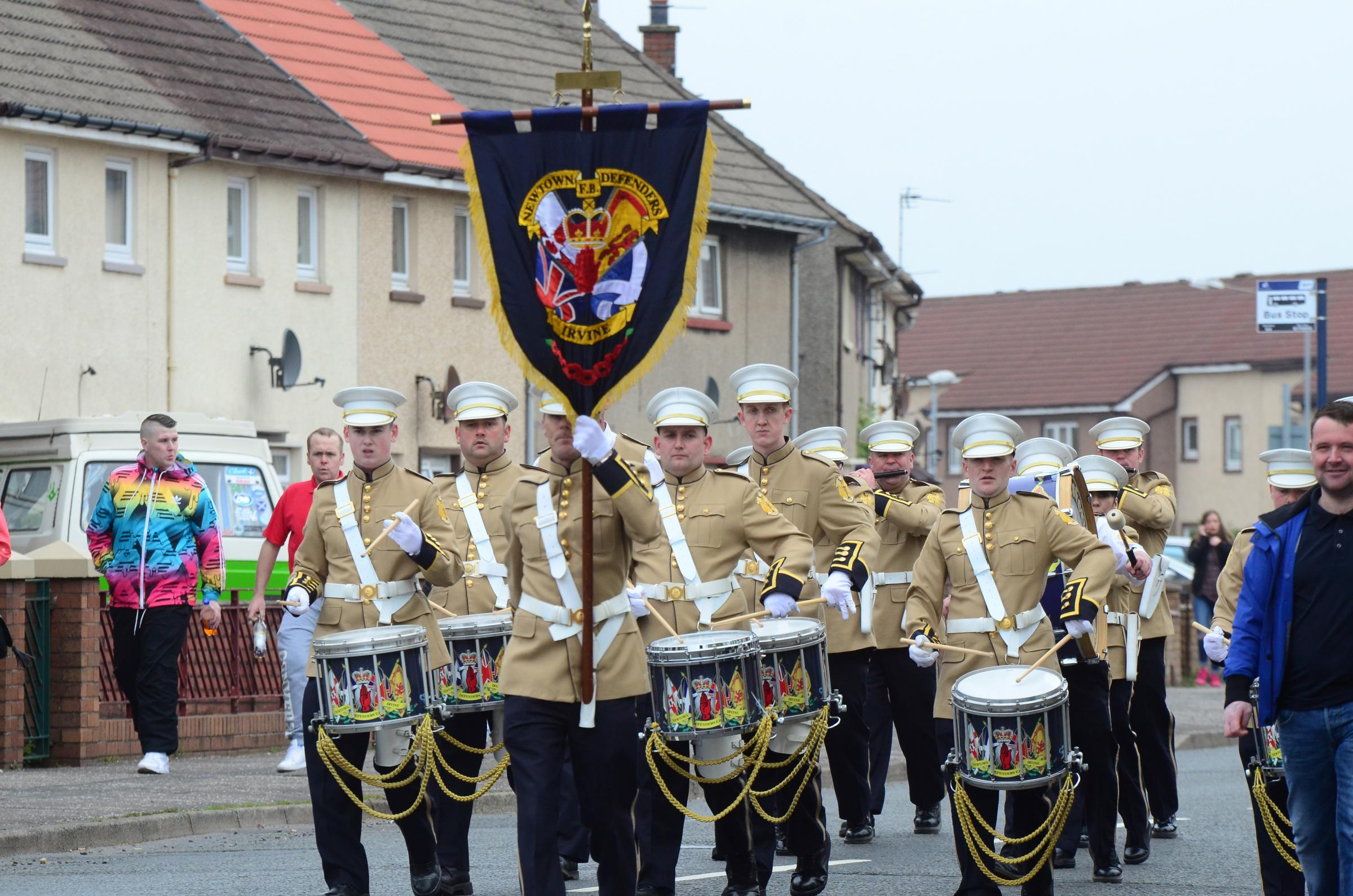 Newtown Defenders' annual flute band parade this weekend
