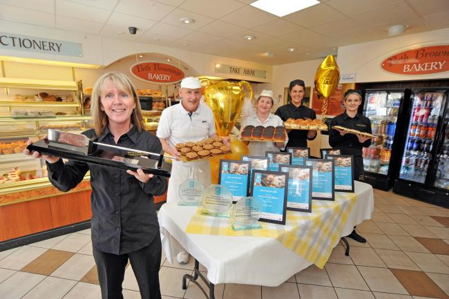 More top awards for Kilwinning bakers Beth Brownings