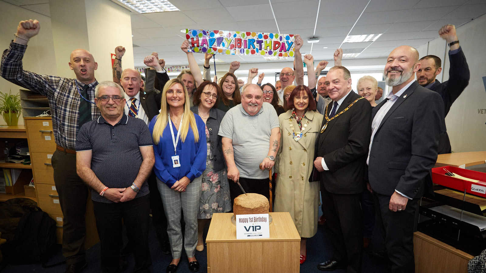 Veterans First Point in Irvine celebrates first year open