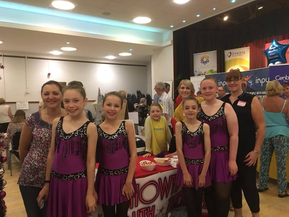 Dancers from Janice Marshall School of Dance who were awarded £1,500