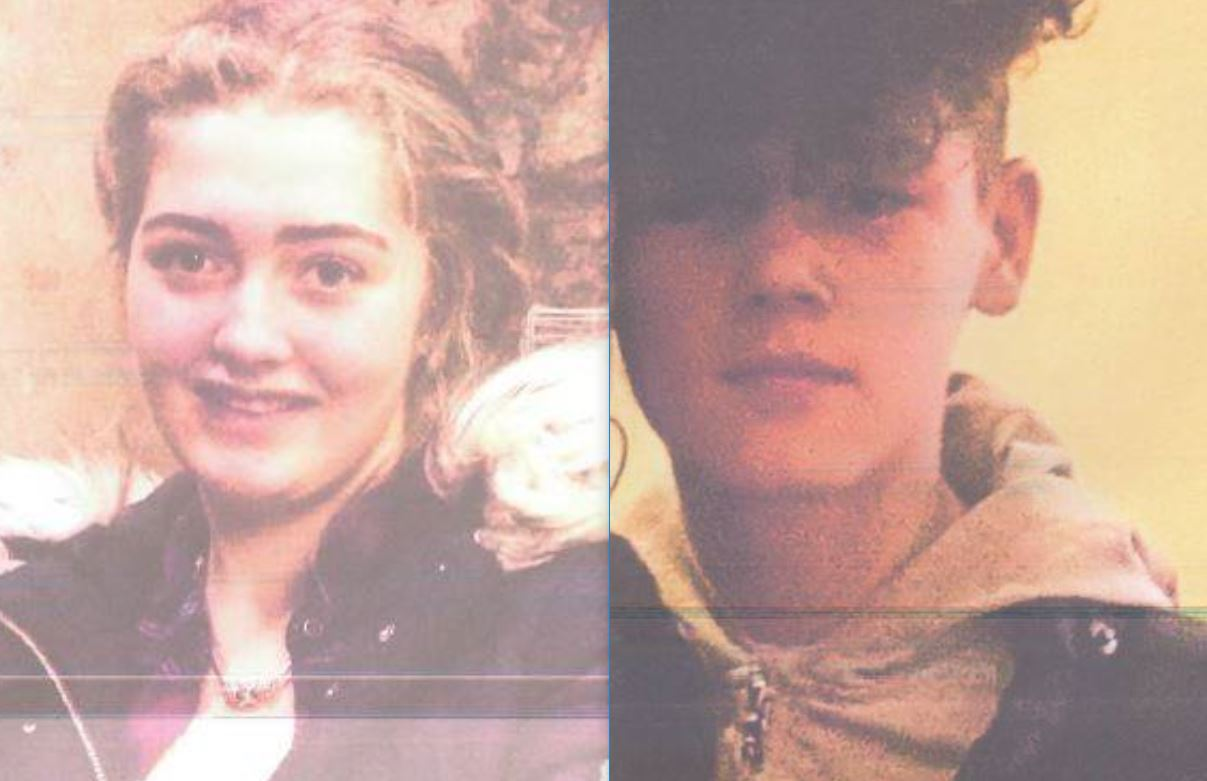Two teenagers reported missing from Kilwinning