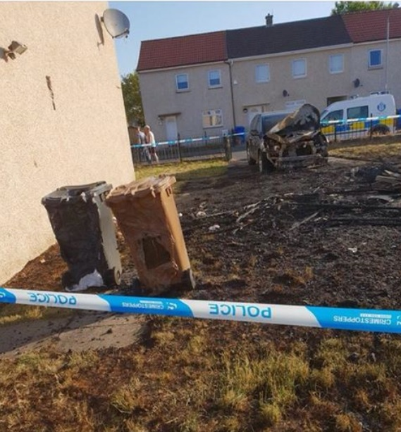 Family home set on fire in suspected arson attack