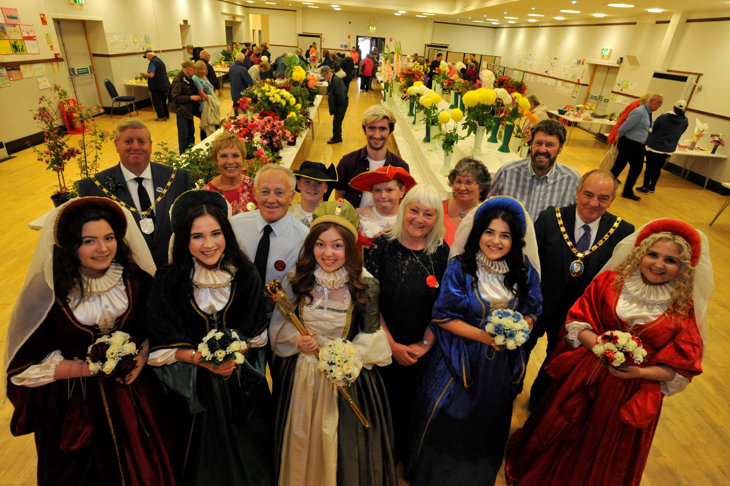 Get your entries in for Marymass Flower show