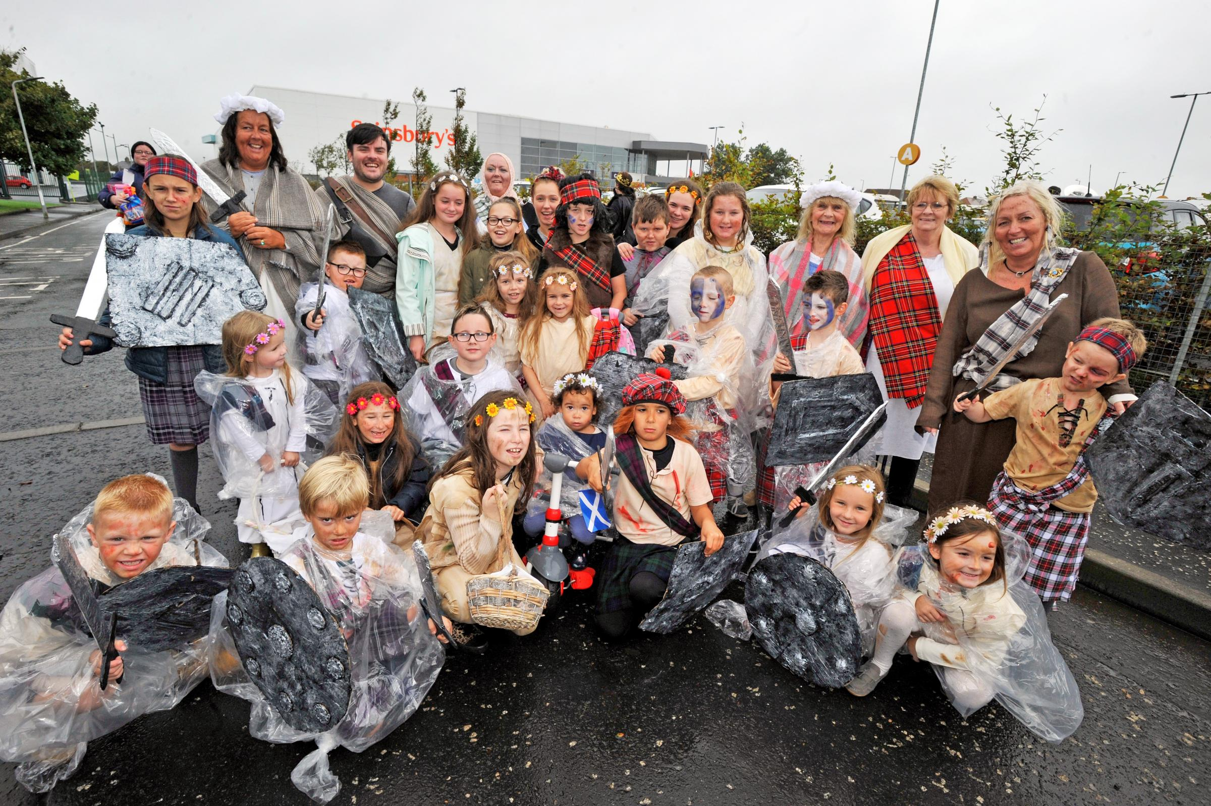 Fullarton kids faced seven-mile walk after Marymass float mix-up