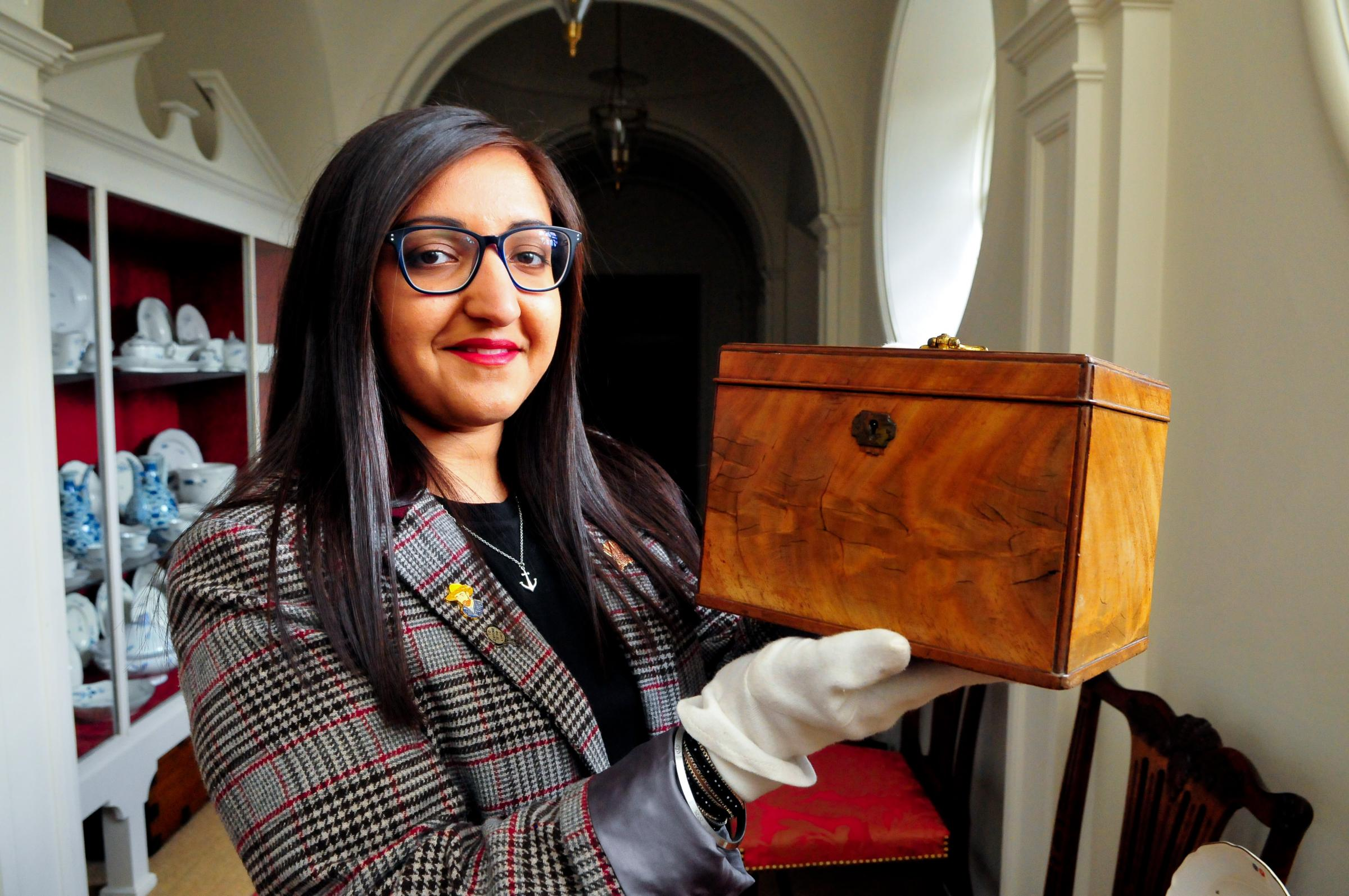 Dumfries House lass Satinder Kaur has been appointed as the new collections assistant at Dumfries House
