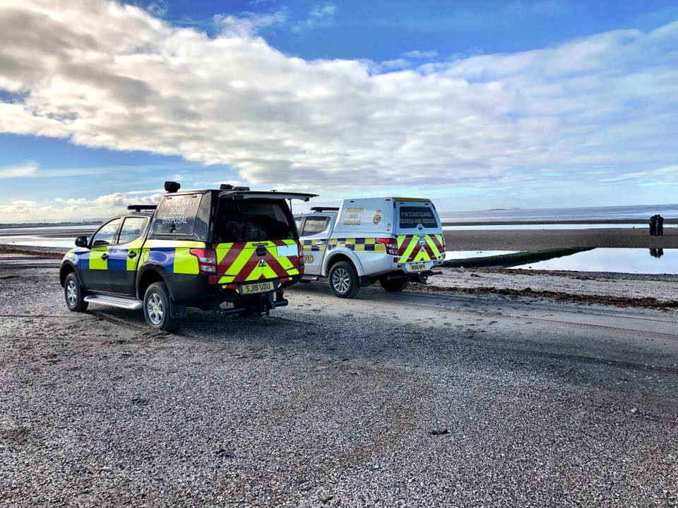 BREAKING: No explosive device found at Irvine beach