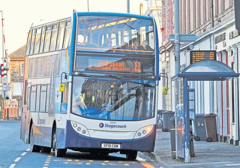 North Ayrshire Labour hit out at Stagecoach service cuts