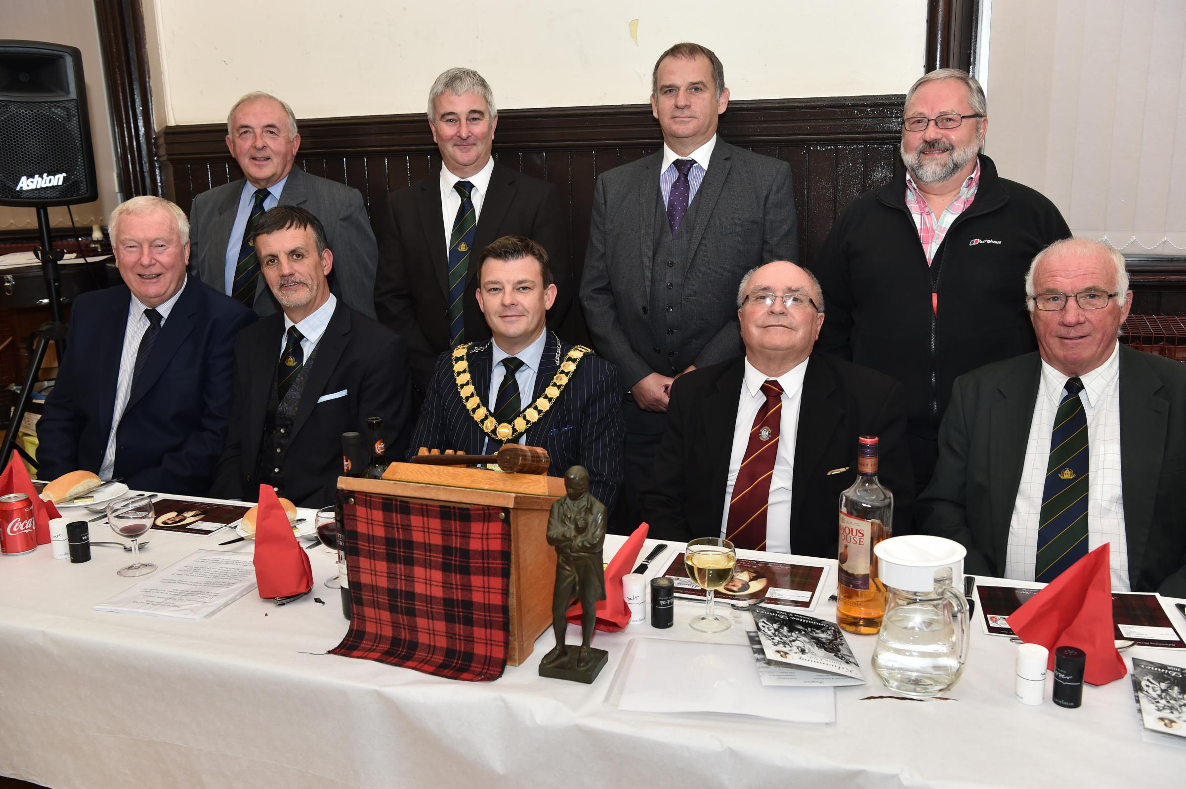 Kilwinning Burns Club kick off new season