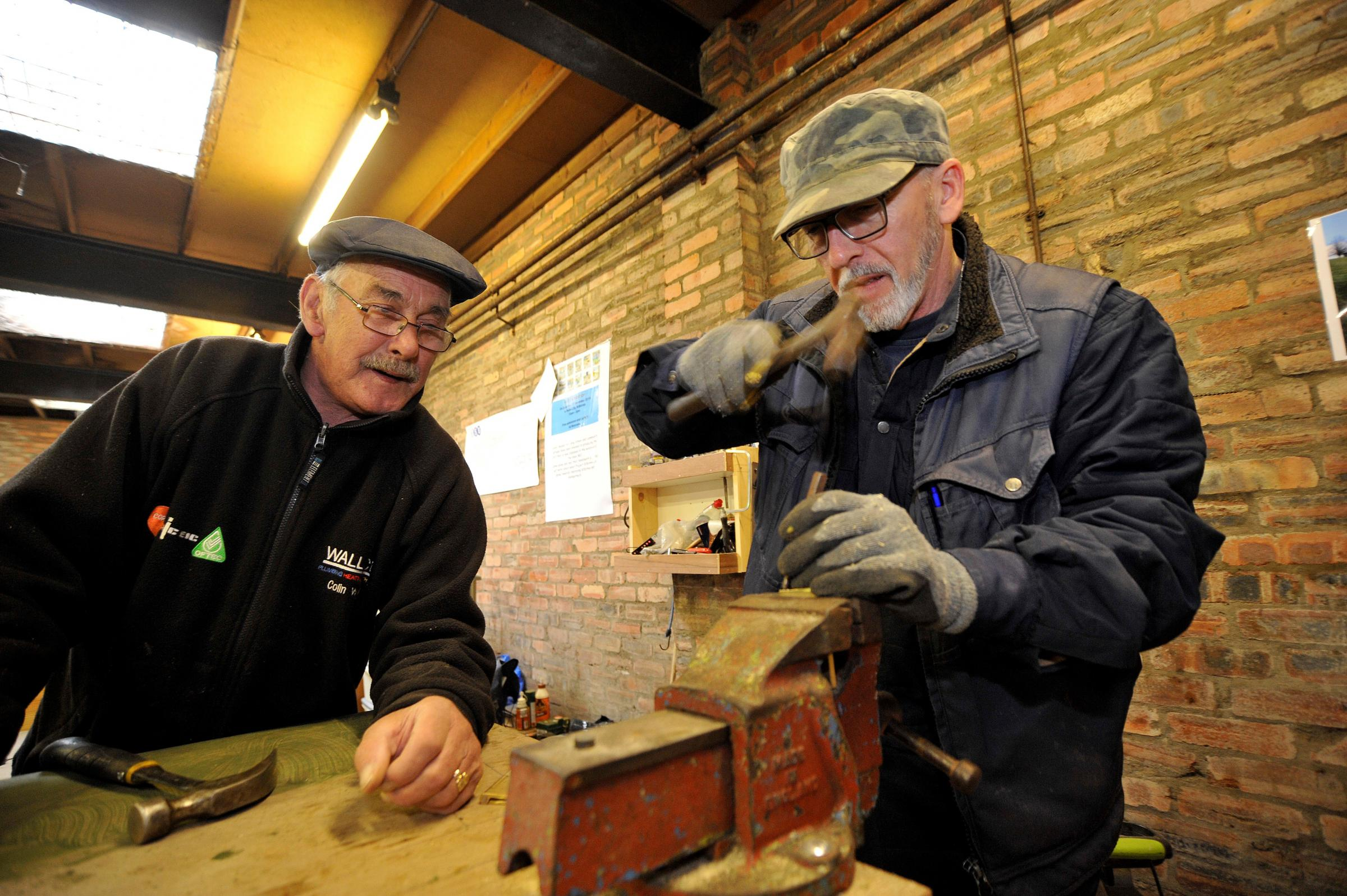Men's Shed groups are being set up across North Ayrshire