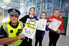 Police join forces with pupils to beat shoplifters