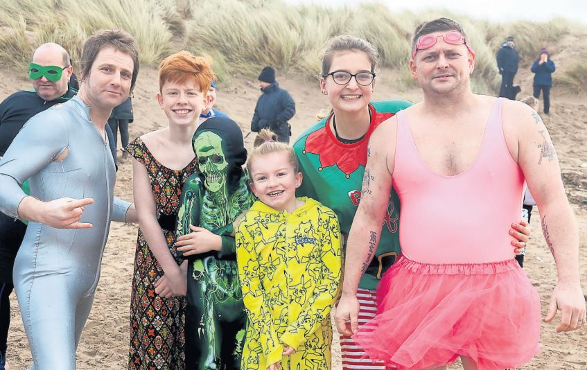 Still time to join this year's Polar Plunge at Irvine beach