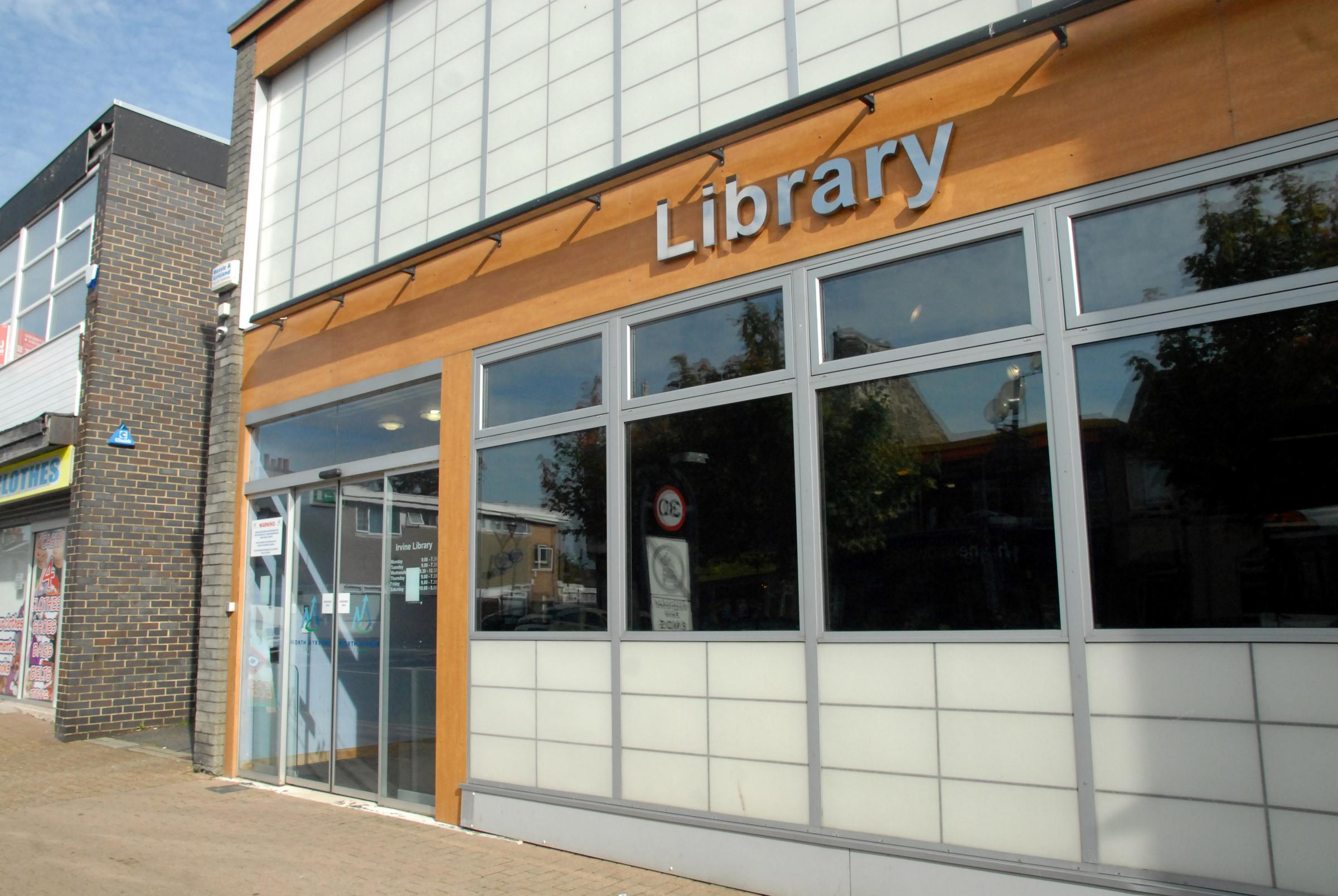Libraries and community centres facing financial threat