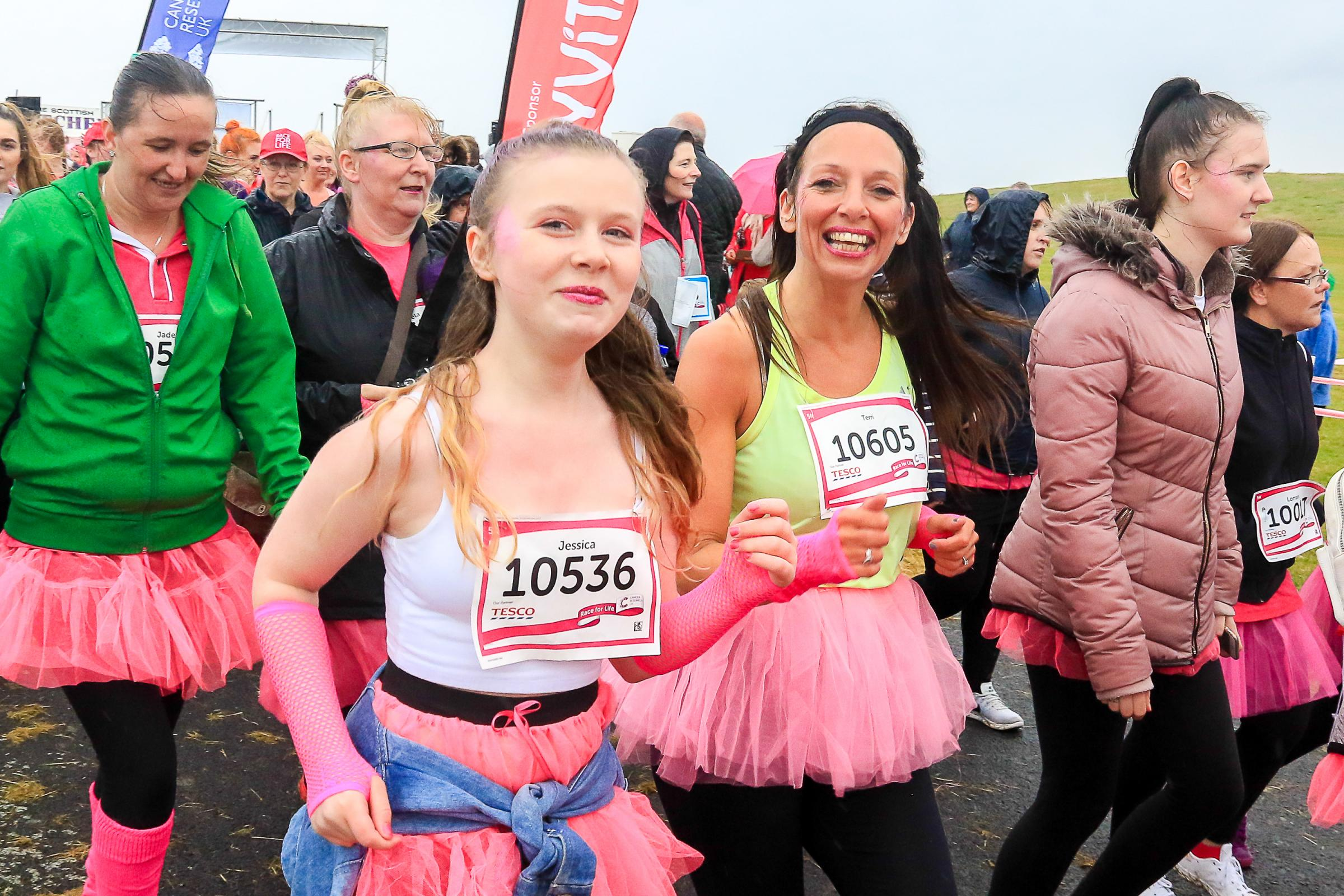 Men, women and children wanted for Irvine's Race For Life
