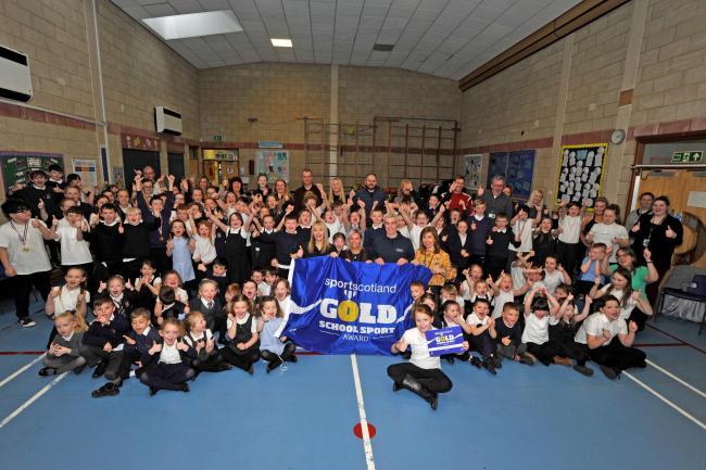 Gold School Sport Award for Blacklands Primary