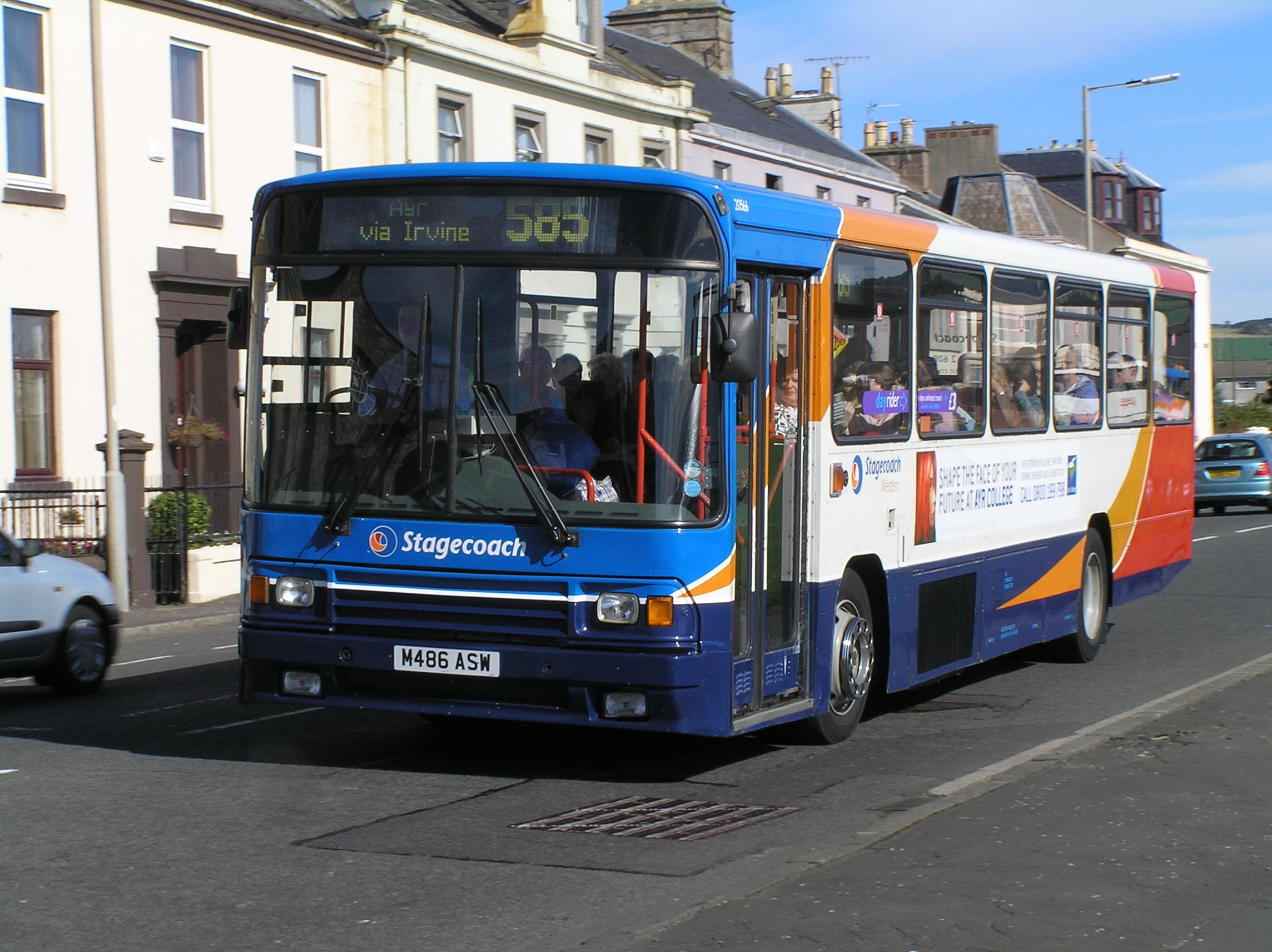 Stagecoach's 585 service.