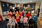 Blacklands Early Years pupils celebrate their great report.