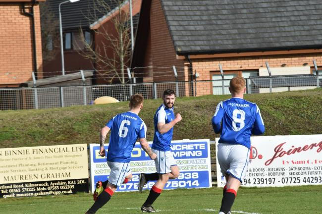 Good win for Irvine Meadow