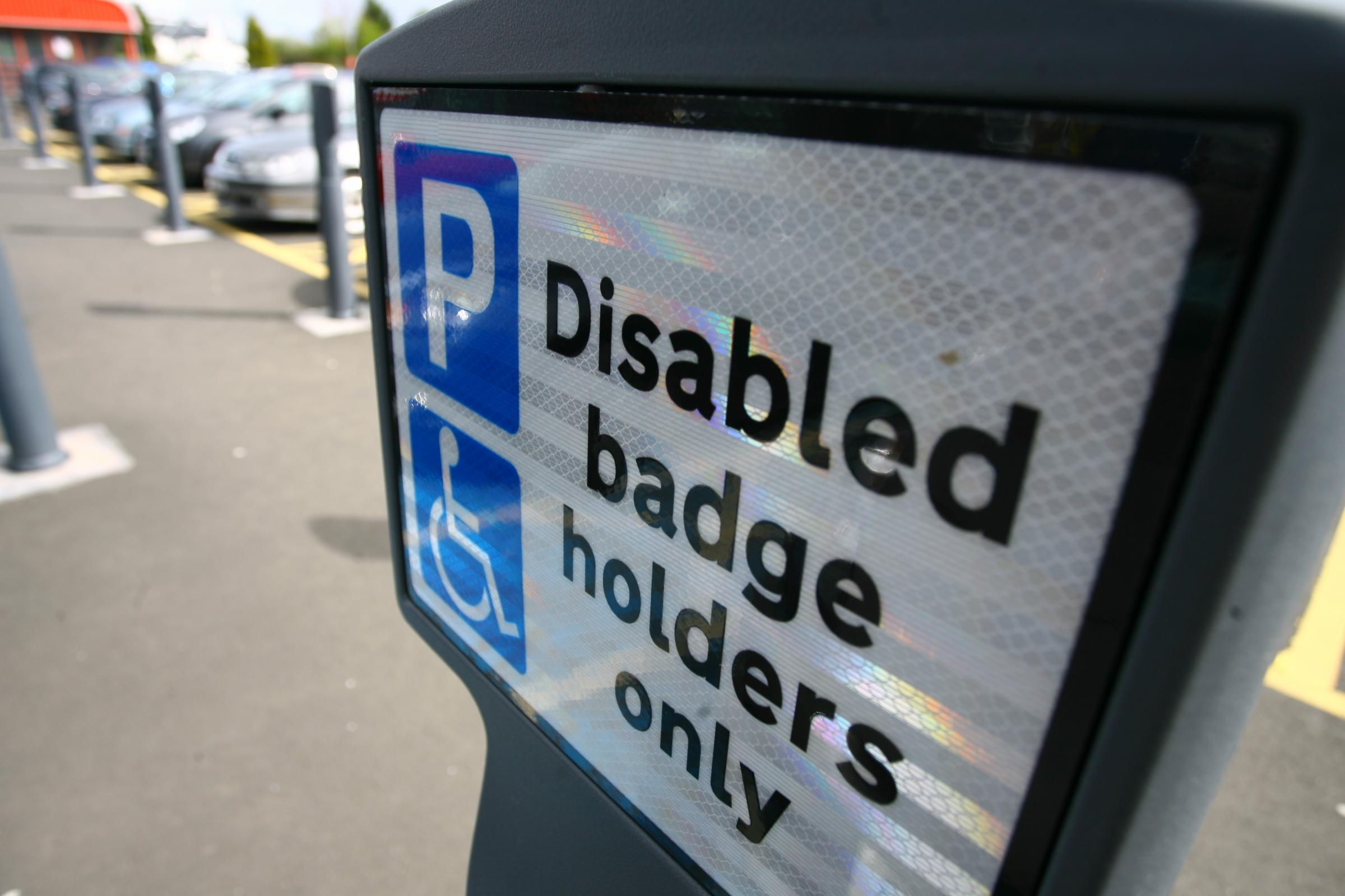 'Hefty' fines for those caught parking in NHS disabled bays