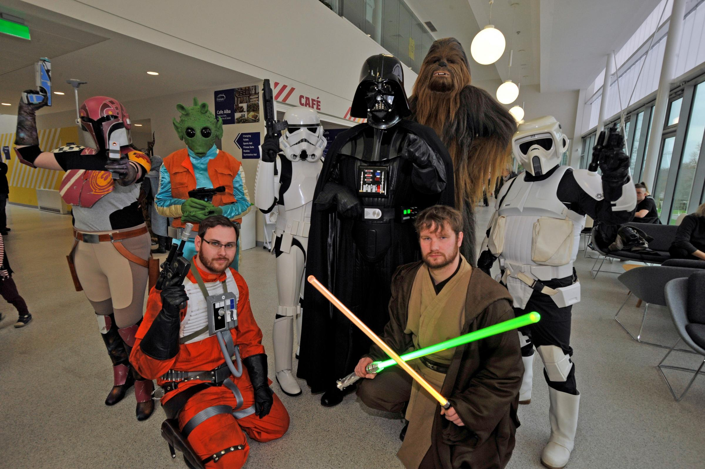 A recent BGCP Comic Con event held in Largs.