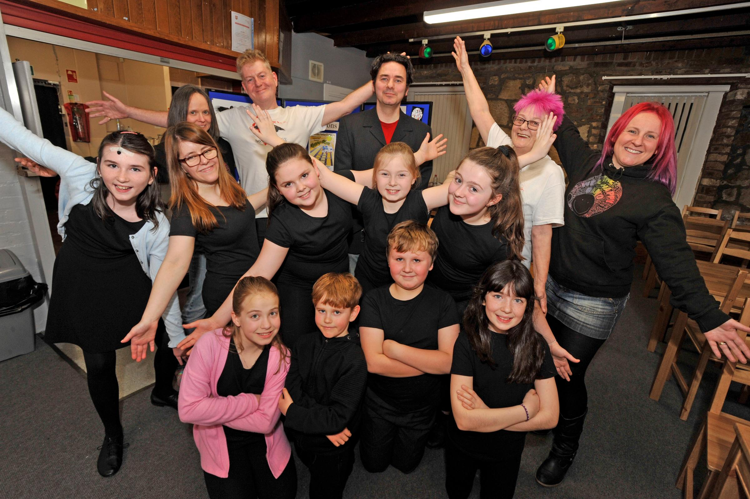 Youngsters stage fantastic mental health musical in Pennyburn