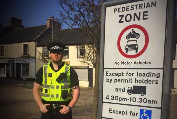 Police to crack down on parking in Kilwinning town centre