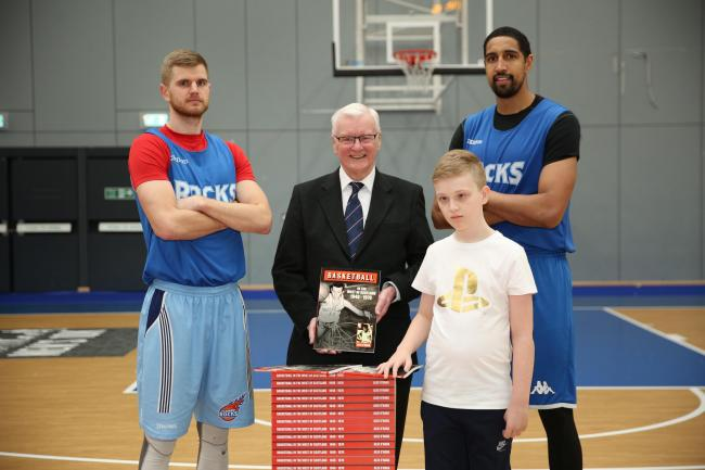 Kilwinning man launches new basketball book for charity