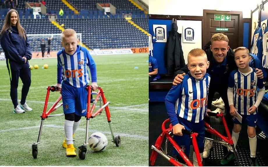 Irvine schoolboy and Killie fan enjoys dream day as mascot