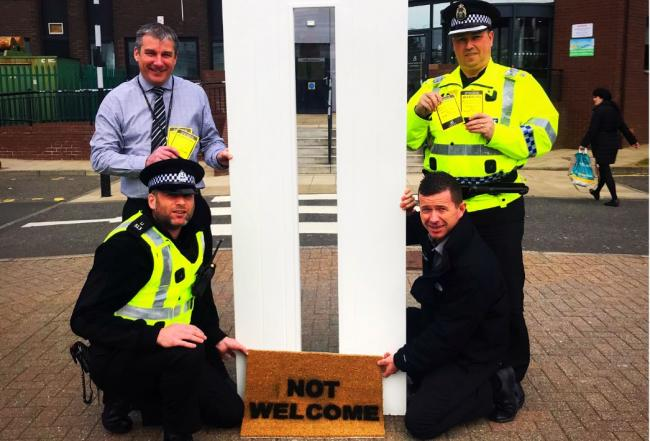 Doorstep scammers not welcome in North Ayrshire
