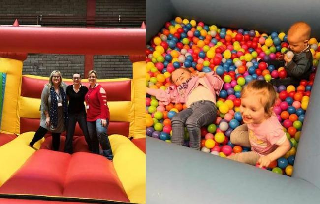 Bouncing Bairns inflatables event back in Kilwinning