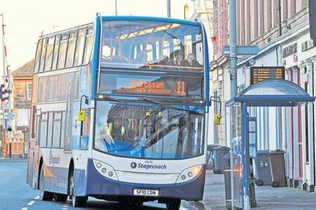 Stagecoach to axe two Irvine services in bus timetable overhaul