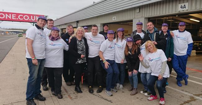 Irvine team compete in 24-hour Silverstone race for four top charities