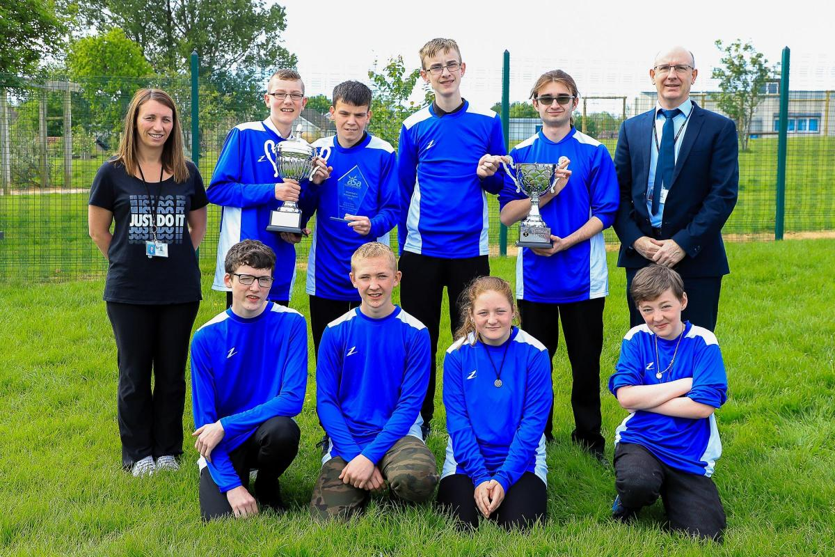 Stanecastle primary crowned Ayrshire's Most Active School