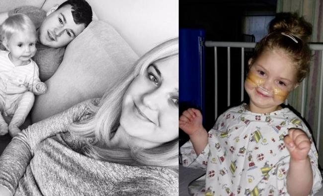 Dreghorn family's heartache after being told four-year-old Ailey will never walk or talk