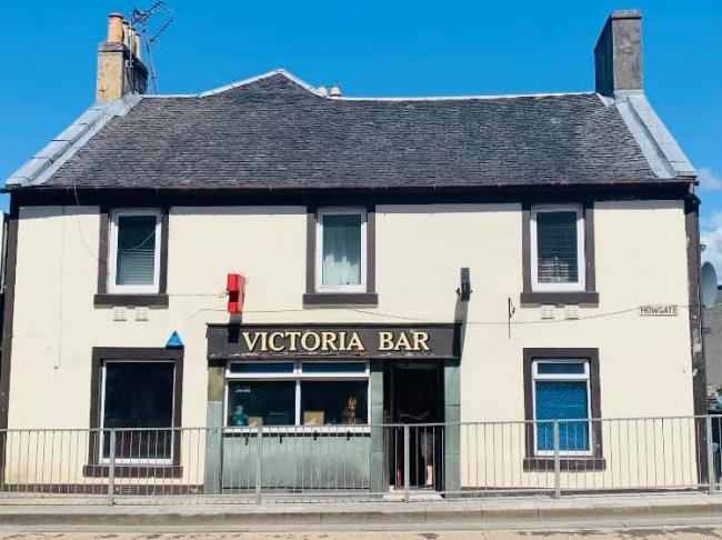 Kilwinning's much-loved Victoria Bar goes up for sale