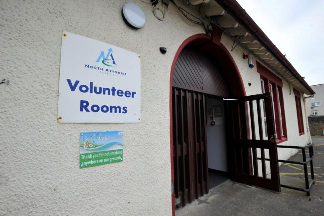 Irvine volunteer rooms has problem with car park because of the Portal visitors..