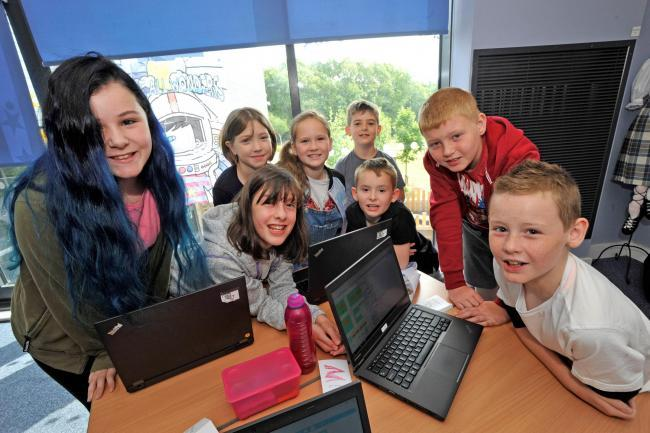 Pupils invited to join Summer Coding Camp at Elderbank