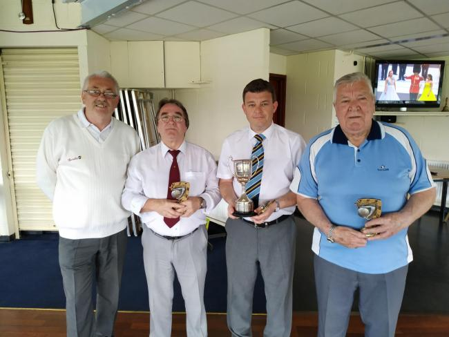 Irvine Royal Arch team secure triples trophy for third year running