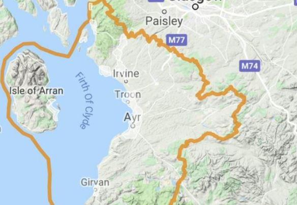Flood alert issued across Ayrshire and Arran