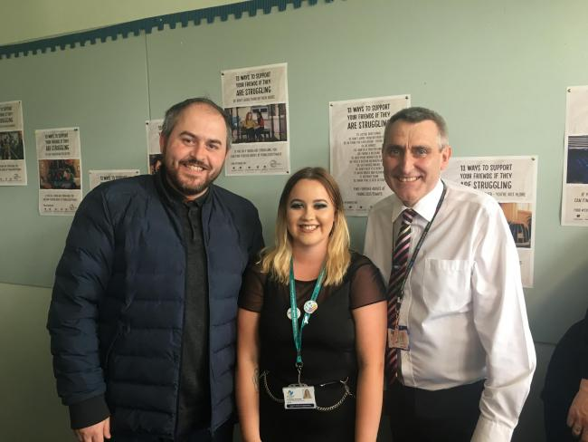 New mental health well-being hub launches in Kilwinning Academy