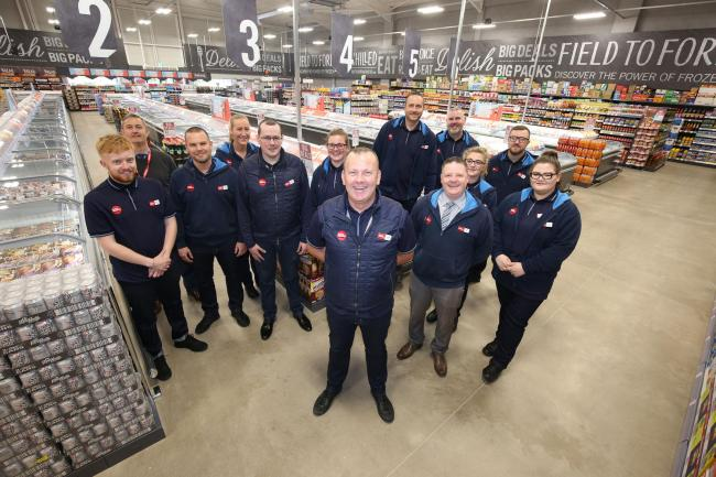 Free prize draw for all customers as Food Warehouse opens in Irvine
