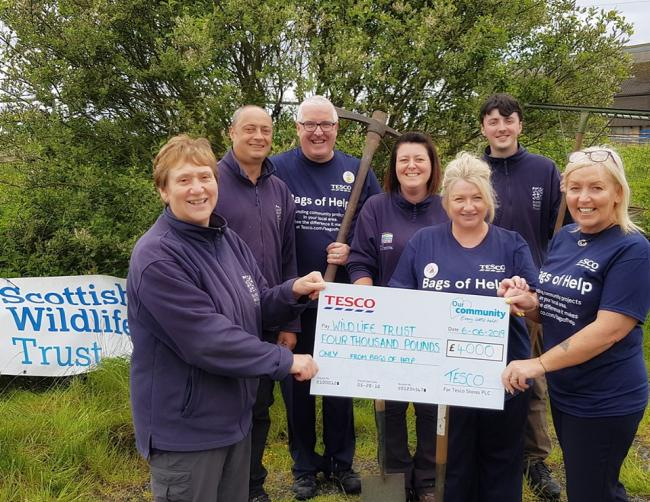 Wildlife group win cash thanks to supermarket customers